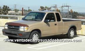 Tacoma 2001 4 Puertas >> Venta de Camionetas Usadas Toyota Doble Cabina, tacomas 4x4, tundras