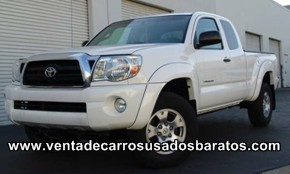 venta de camionetas usadas toyota doble cabina tacomas 4x4 tundras. Black Bedroom Furniture Sets. Home Design Ideas